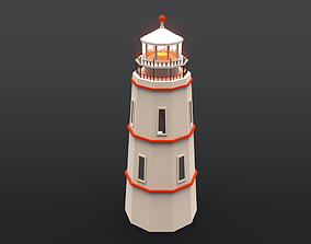 3D model VR / AR ready Lighthouse other