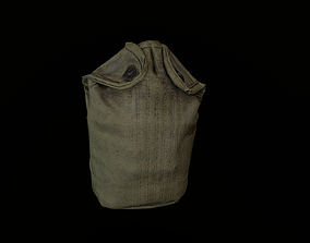 3D asset realtime Army flask