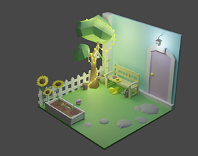 Backyard Room 7 3D model