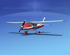 3D model Cessna 182 Skylane V01