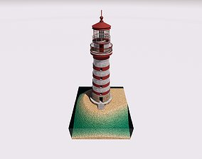 CLASSIC LIGHT HOUSE 1 3D model