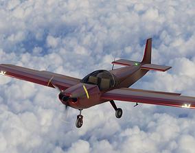 3D model Light Sport Aircraft Zenith CH 650