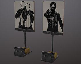 3D model Falling Target