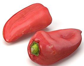 Red Pepper 3D model
