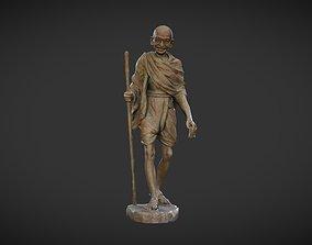 Gandhi by Wagh Sculptors v4 3D asset