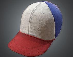 3D model Baseball Cap 80s Retro