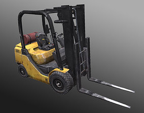 3D asset game-ready Forklifts VPFG15