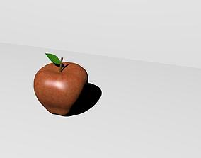 Apple High Poly 3D print model