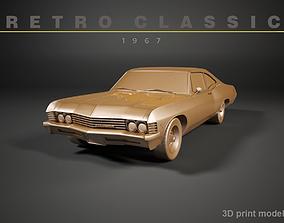 Retro Car of 1967 3D printable model