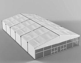 Large Tent structure 3D model