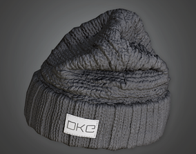 HAT - Beanie Tuque - PBR Game Ready 3D asset