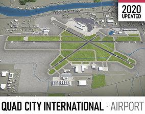 3D model Moline Quad City International Airport - MLI