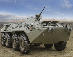Armored personnel carrier 3D print model