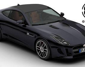 Jaguar F Type R Coupe 2015 3D model