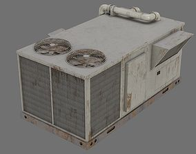 3D model Rooftop AC Unit 1B