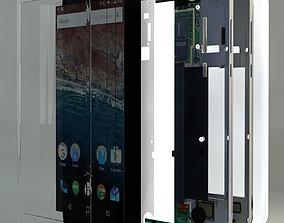 3D Smart Phone Inside Part Complete