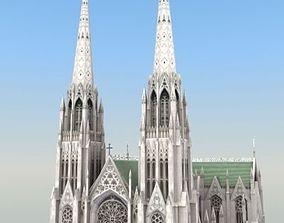 Saint Patricks Cathedral NY 3D