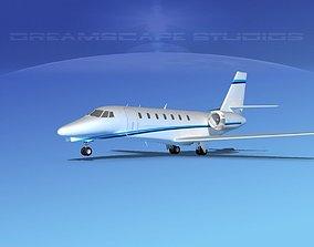 Cessna C680 Citation Soveriegn V11 3D