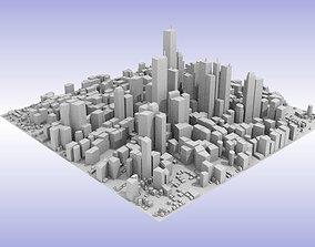 City center 3D asset