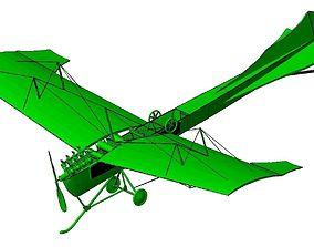 3D print model Antoinette VII airplane
