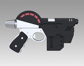 3D Lawgiver Judge Dredd pistol