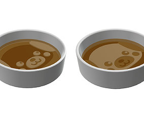 soy sause dish Two dishes set 3D printable model
