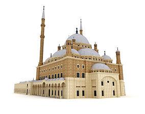3D The Saladin Citadel - Muhammad Ali Mosque