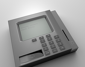 Credit Card Reader 3D