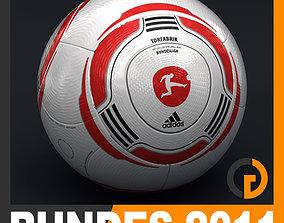 2010 2011 Bundesliga Match Ball 3D model