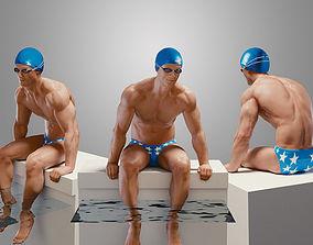 SwimmingpoolBoyB001 3D model