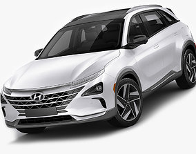 Hyundai Nexo 2019 3D model