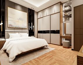 Bedroom 3D Rendering Interior VR / AR ready