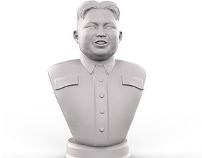3D printable model Kim Jong Un portrait