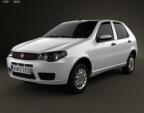 Fiat Palio Fire Economy 2012 3D