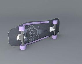 3D Christian Hosoi Hammerhead skateboard