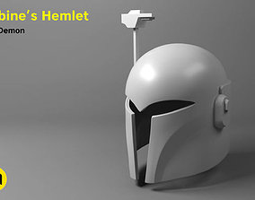Sabine Wren helmet - updated 3D print model