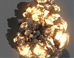 3D model animated Maya Fluids Effects Assets Bundle