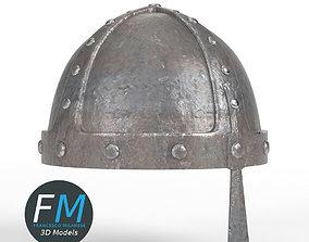 3D model PBR Medieval helmet