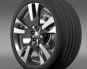 Infiniti M wheel 3D model