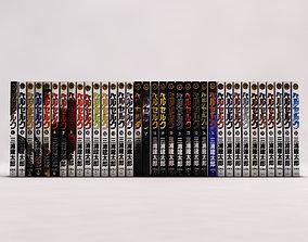 BOOK---Manga Berserk 3D asset