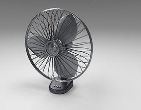 Table Fan 3D model realtime