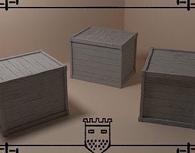 Medieval fantasy box 2 3D print model