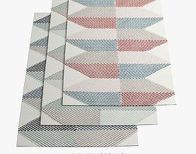Lubo rugs 207 3D model
