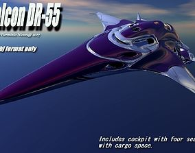 3D model Falcon DR-55
