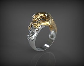 pantera ring 3D printable model