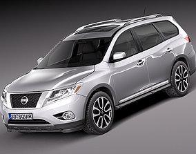 3D suv Nissan Pathfinder 2013