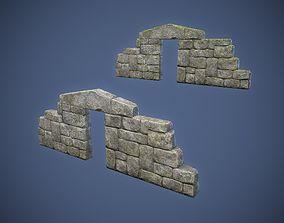 Ruined Doorway 3D model