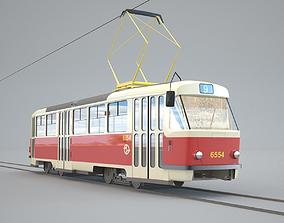 3D model Tram Tatra T3