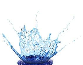 water 3D model Crown 5