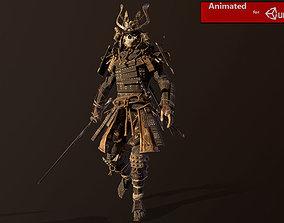 Samurai Remastered 3D model